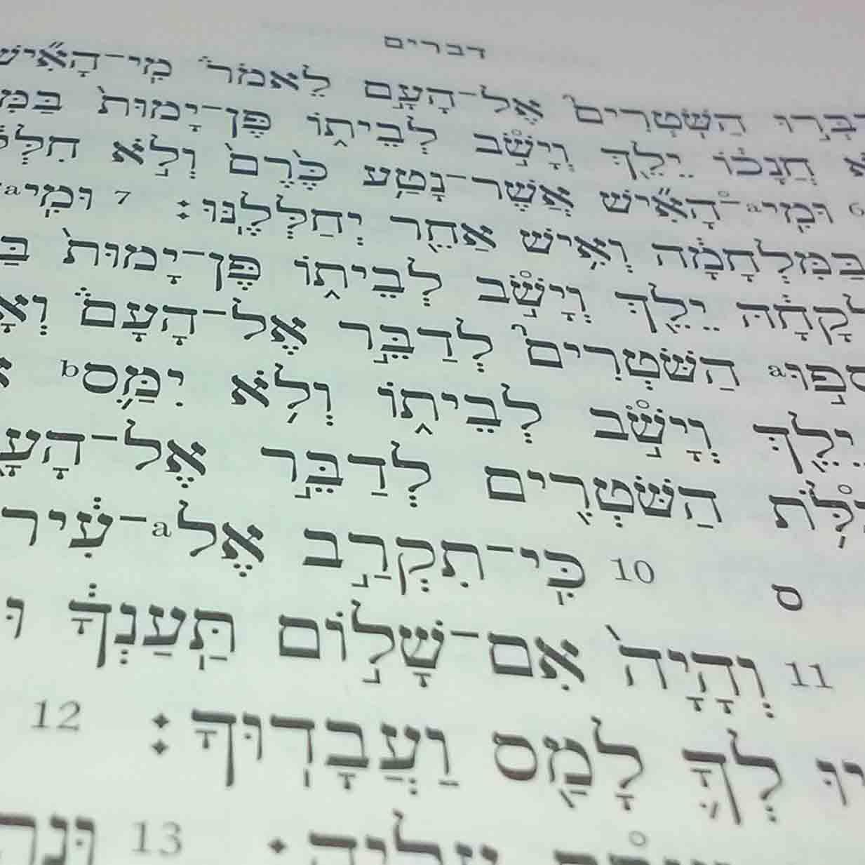 Biblical Hebrew – BibTheo