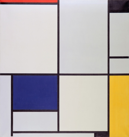Piet Mondrian [Public domain], via Wikimedia Commons